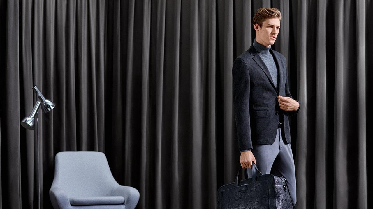 Hugo Boss formal black suit
