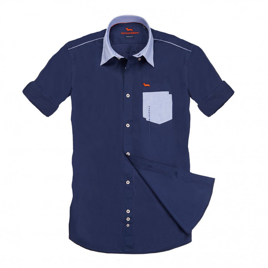 Dark blue shirt from Serb Saudi Arabia Store