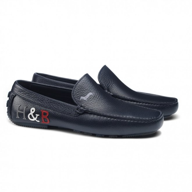 Harmont and Blaine black shoes from Serb Fashion Store