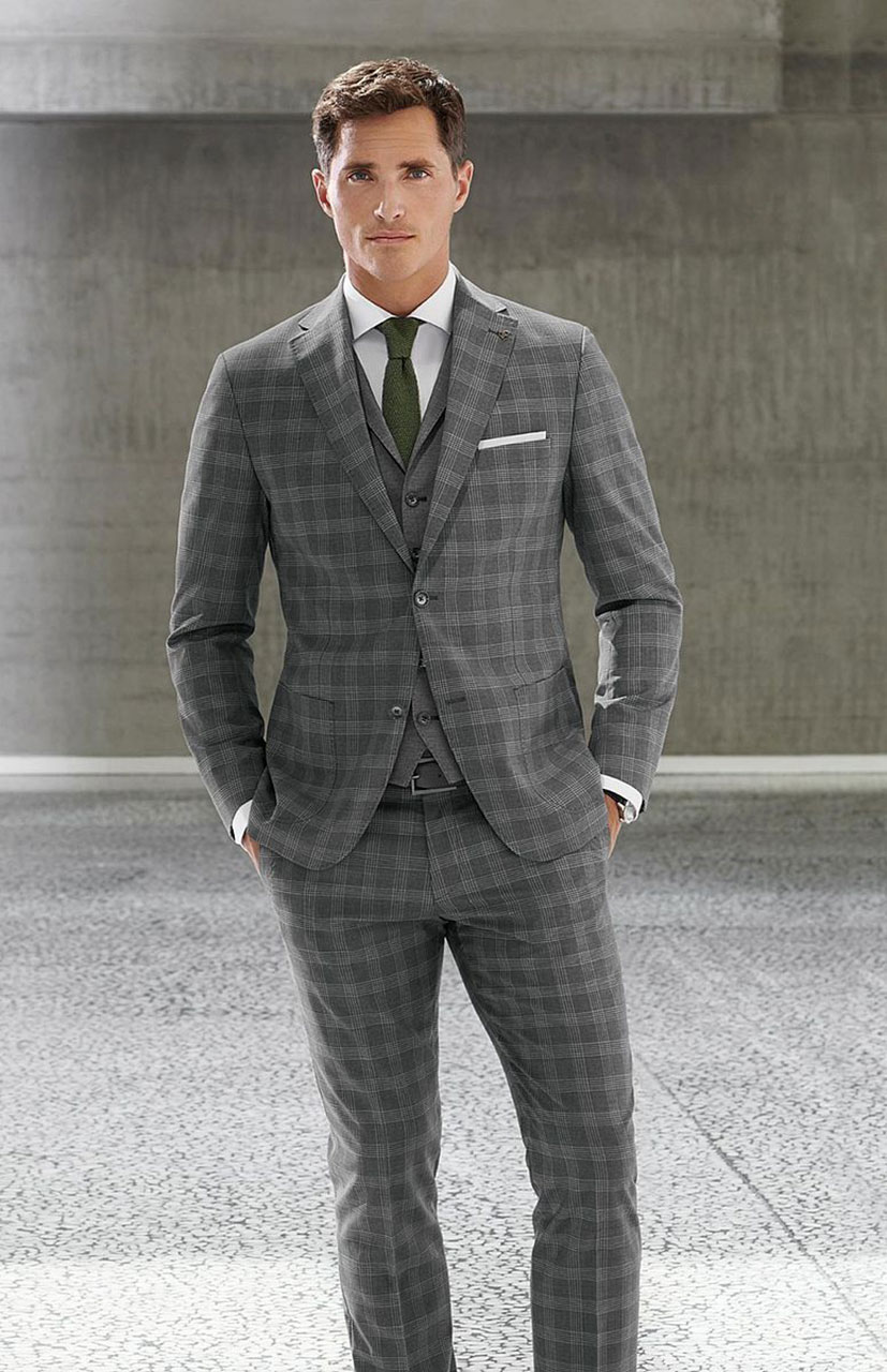Roy Robson striped suit